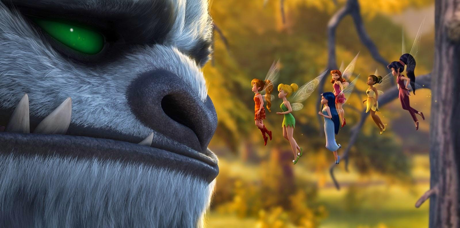 Estreias da semana (26/02):  Tinker Bell e o monstro da Terra do Nunca, Superpai e Sem direito a resgate
