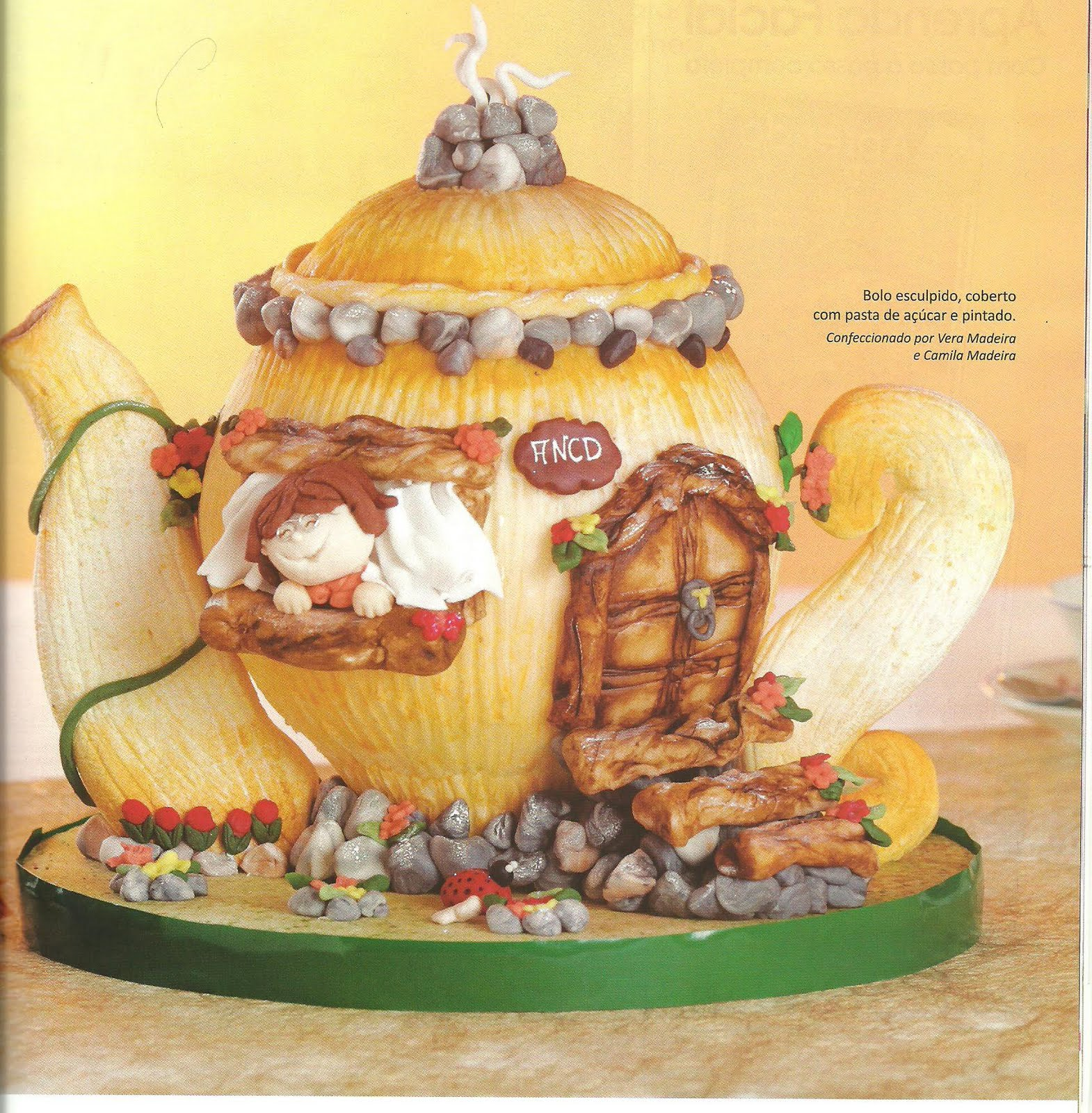L?art in Dolce - Vera Madeira: Revista Faca Facil Cake ...