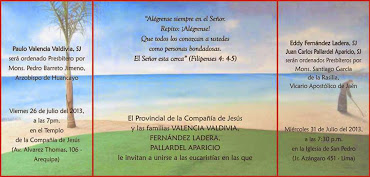 Ya son sacerdotes Jesuitas - Arequipa y Lima