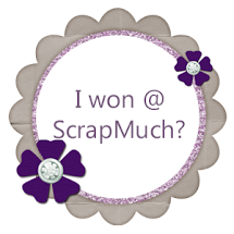 I won at ShopScrapMuch !