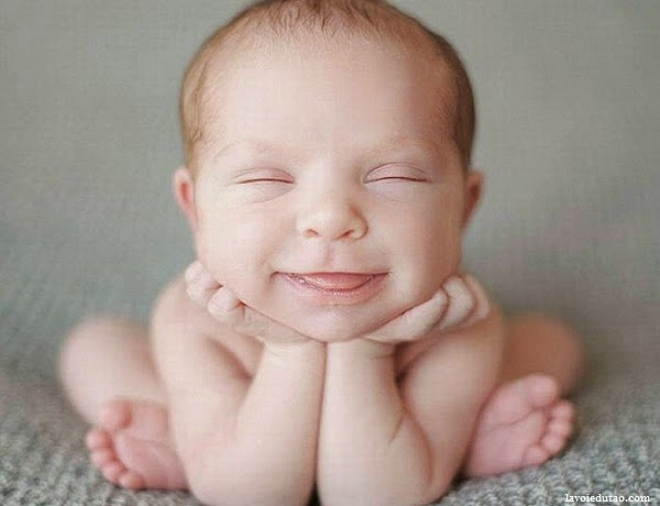 Photo bébé comique très rigolo