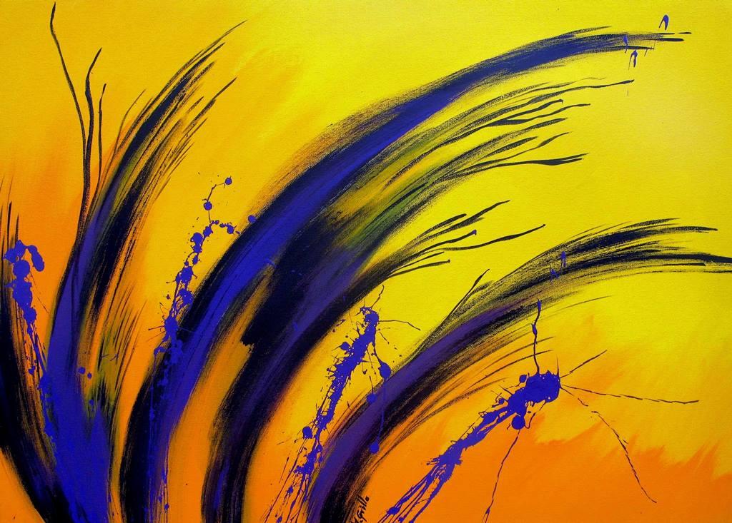 Pintura moderna y fotograf a art stica pintura abstracta for Fotos cuadros abstractos