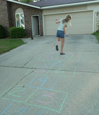Hopscotch Turn-Around