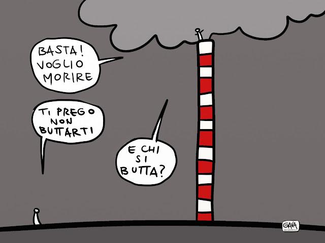 smog Taranto Gava Satira Vignette