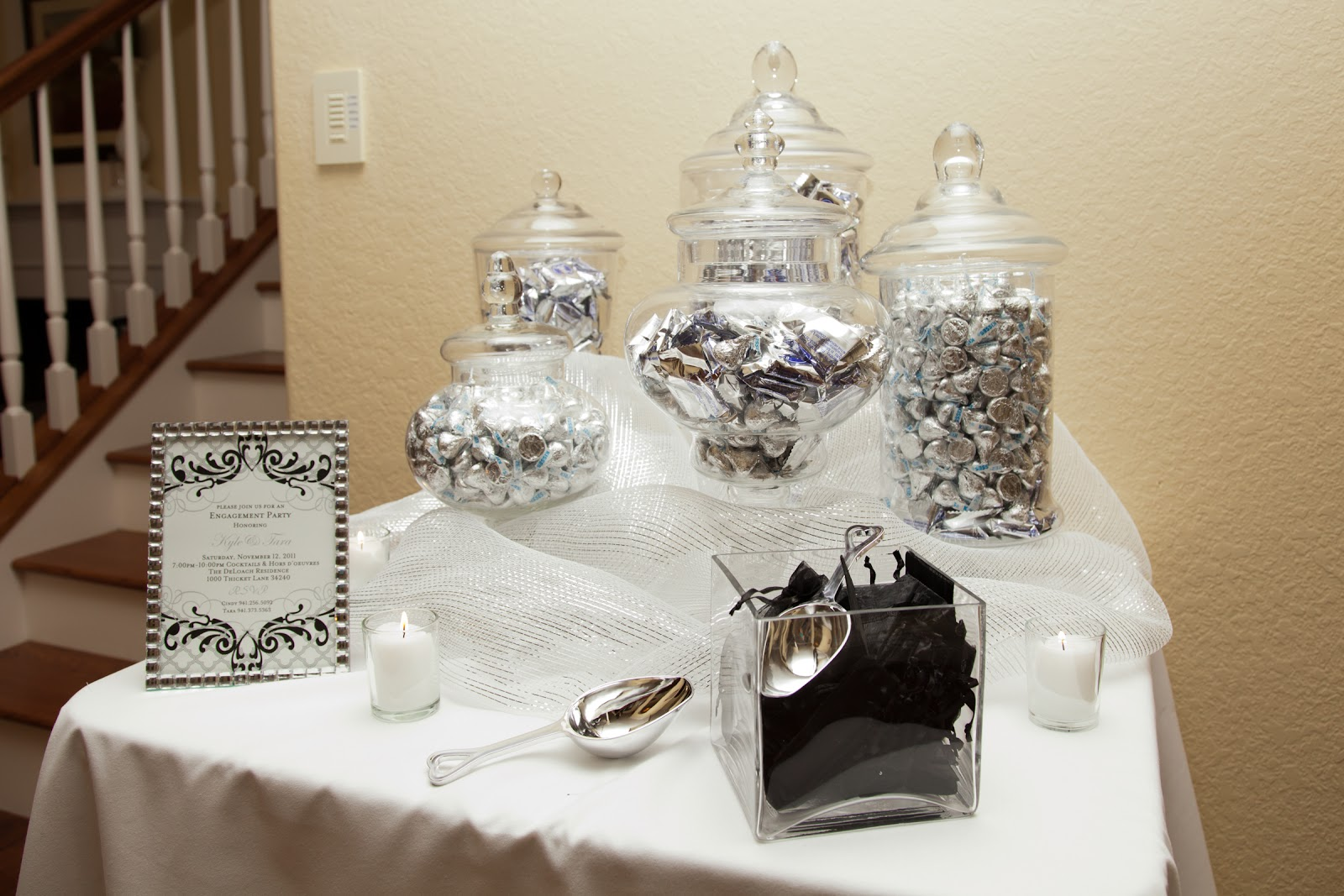 The Sweet Little Southern Charm by Tara Miller: Our Engagement Party