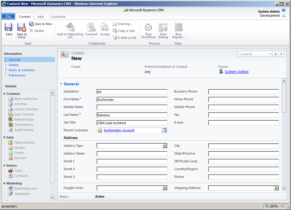 How to write custom workflow in crm 2011