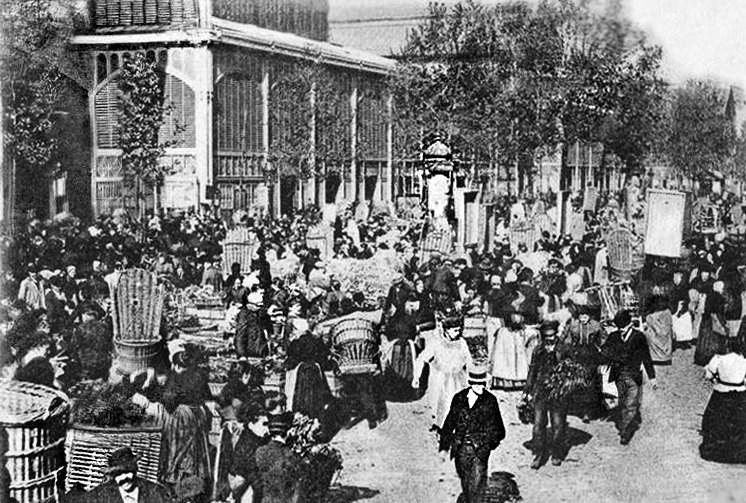 mandataires commisionaires n gociants producteurs aux halles de paris vers 1900 paris. Black Bedroom Furniture Sets. Home Design Ideas