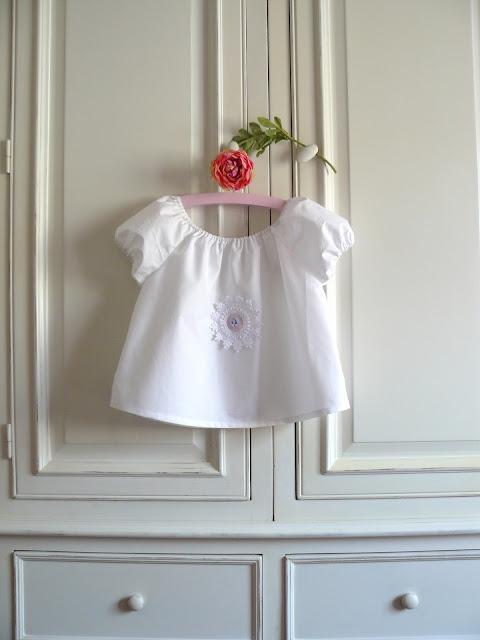 blouse fillette Mon armoire jolie - sélection bébé de CocoFlower
