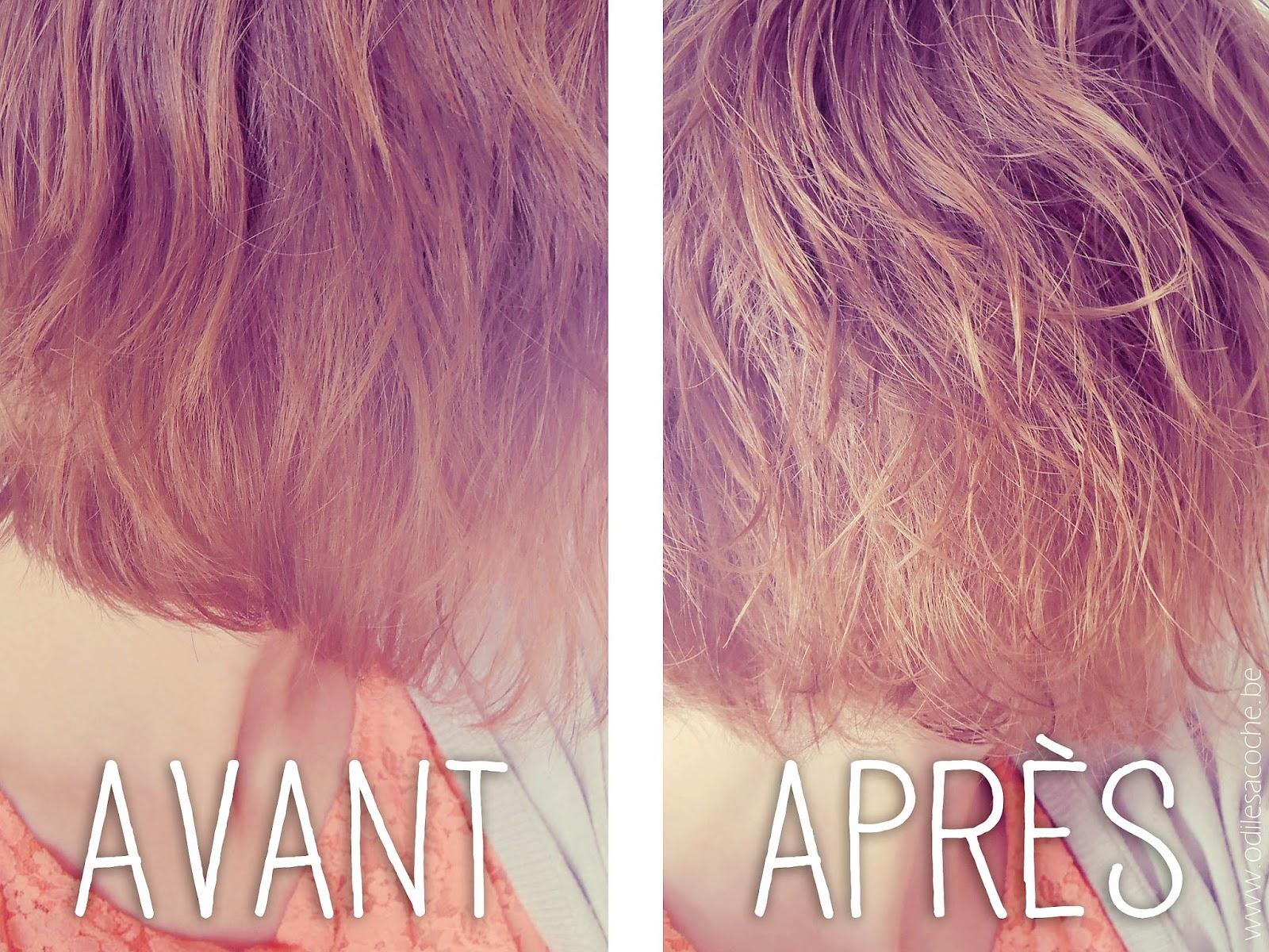 DIY tutoriel spray marin pour cheveux