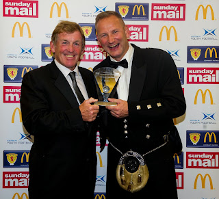 Kenny Dalglish and Mark Adams, SFA Grassroots Awards 2013