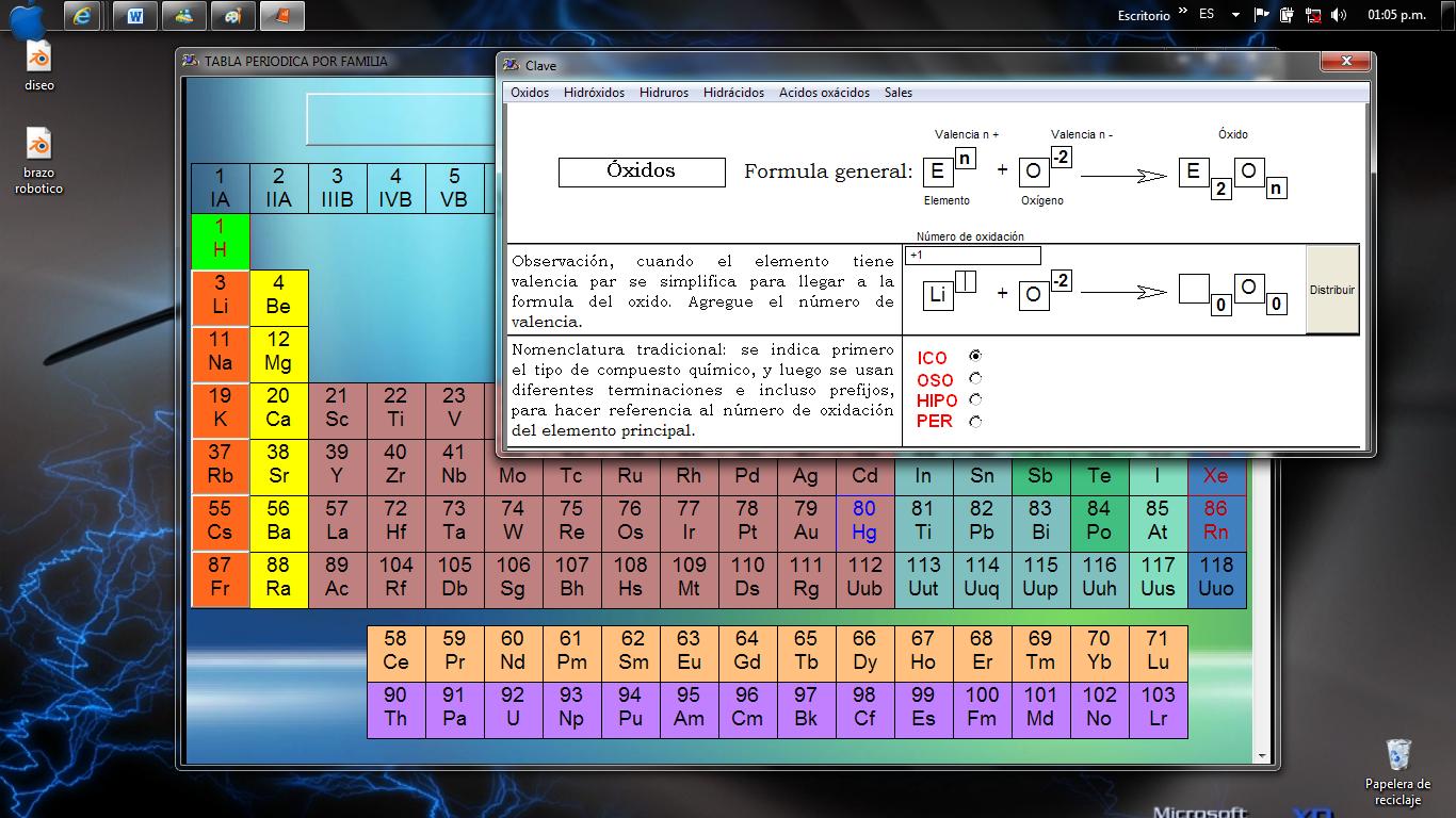 Tabla periodica de los elementos online e interactiva lzk for Ptable online