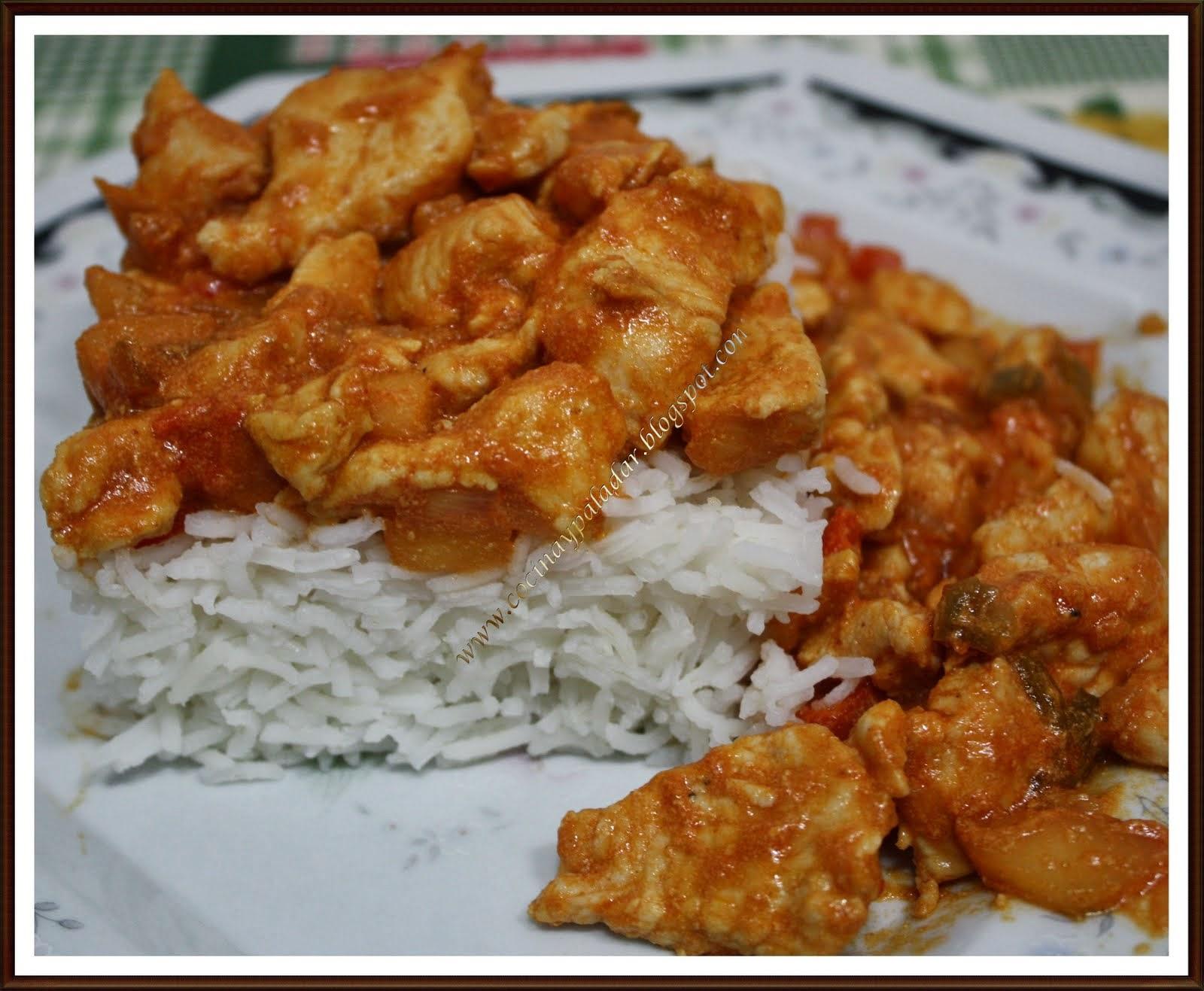 Cocina y Paladar: Pavo al curry a mi estilo