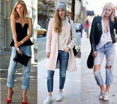 modelos de calca jeans boyfriend