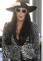 Cher at LAX Airport, August 2015