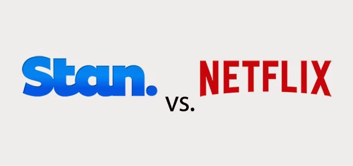 Stan vs Netflix Australia