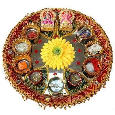 Festival celebration: Navratri Puja Thali