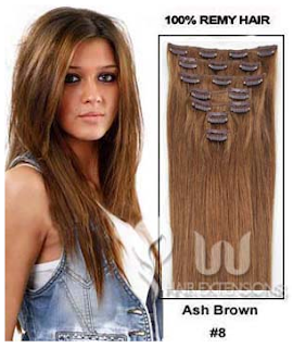 http://www.uuhairextensions.com/28-inch-ash-brown8-clip-in-hair-extensions-220g12pcs-p-2877.html