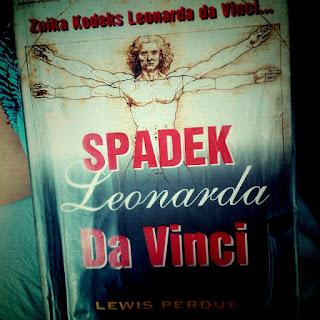 """""""Spadek Leonarda da Vinci""""- Lewis Perdue"""