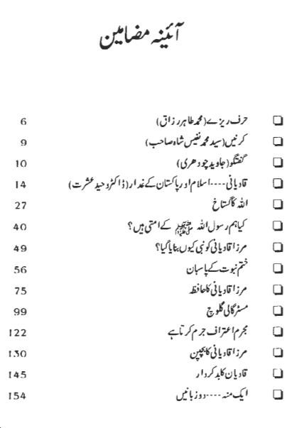 Dajjal-e-Qadyan pdf Urdu book