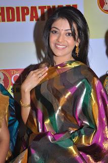 Kajal Agarwal Sexy in Silk Saree Photos