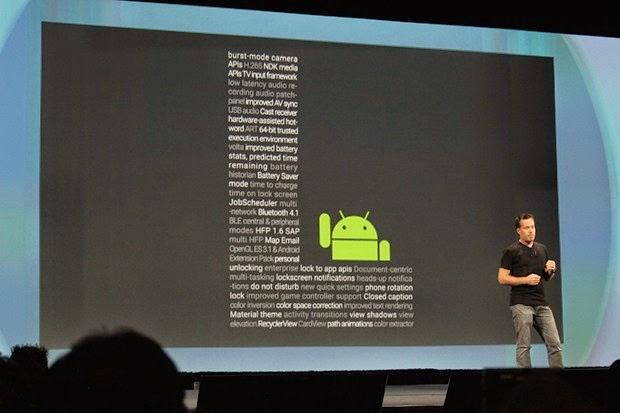 Fitur-Fitur Android L