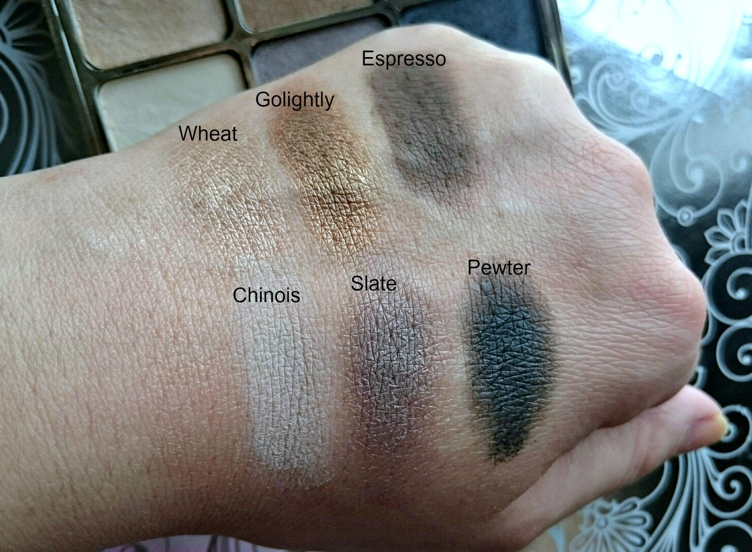 stila eyes are the window spirit swatches