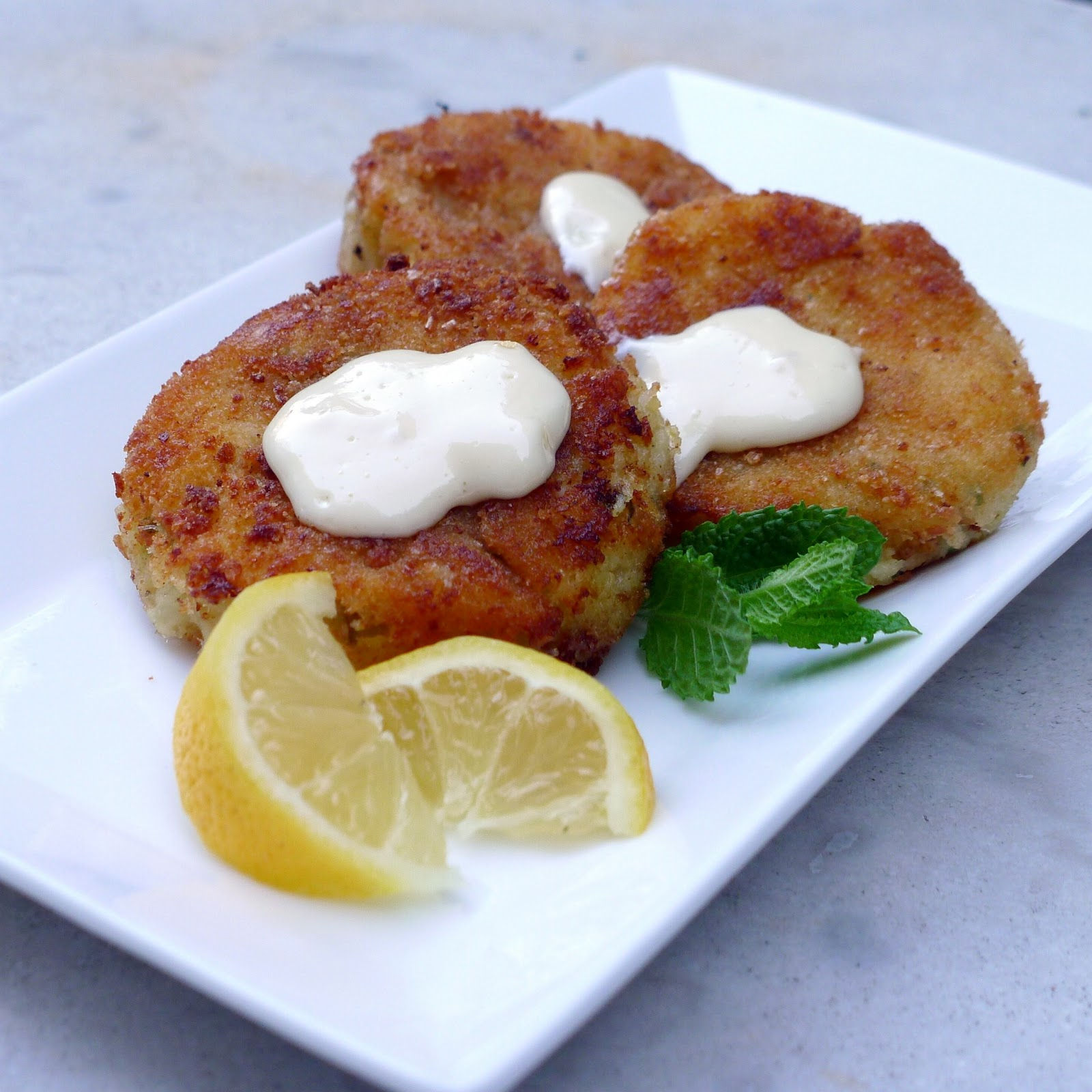 Ilse's Kitchen: Cod Fish Cakes with a Hint of Mint