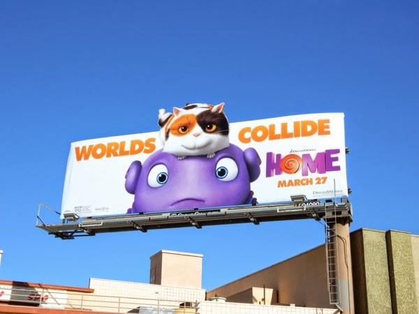 Home movie billboard