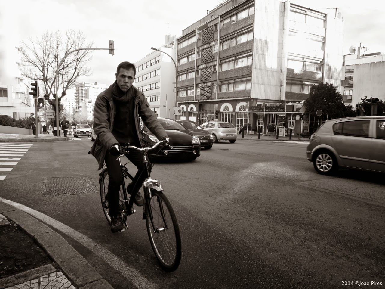 The Bicycle Man by ©Joao Pires