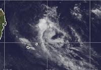 Wetterstörung erreicht Mauritius und La Reunion, Zyklonsaison Südwest-Indik 2012 2013, Mauritius, November, 2012, aktuell, Satellitenbild Satellitenbilder, Radar Doppler Radar, Wettervorhersage Wetter,