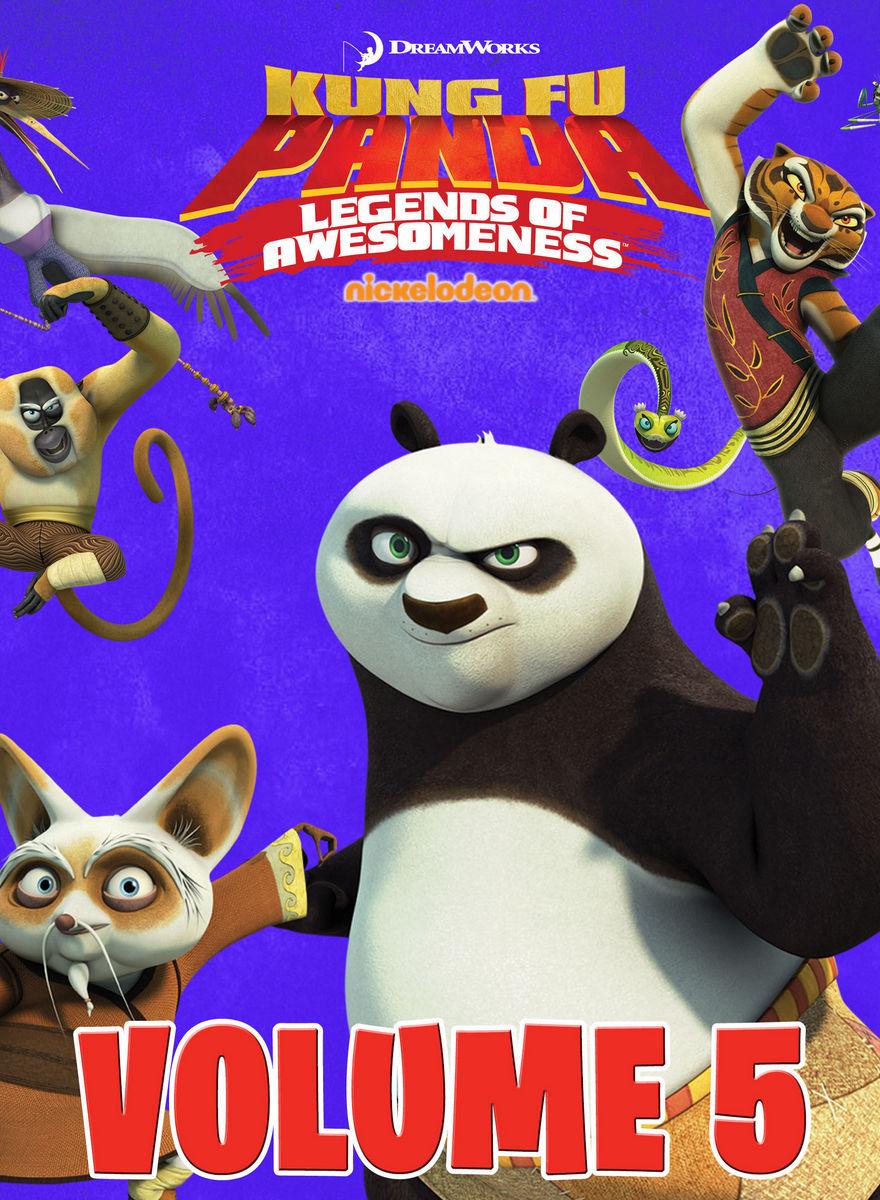 Kung Fu Panda: Legends Of Awesomeness Vol.5 : กังฟูแพนด้า ตำนานปรมาจารย์สุโค่ย! ชุด 5