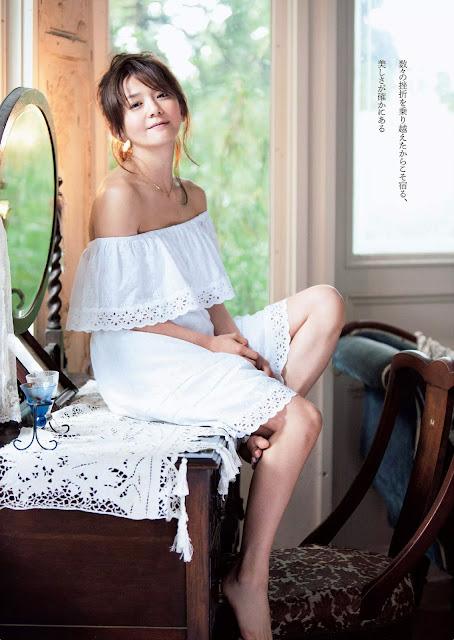 華原朋美 Tomomi Kahala Weekly Playboy 週刊プレイボーイ July 2015 Photos 3