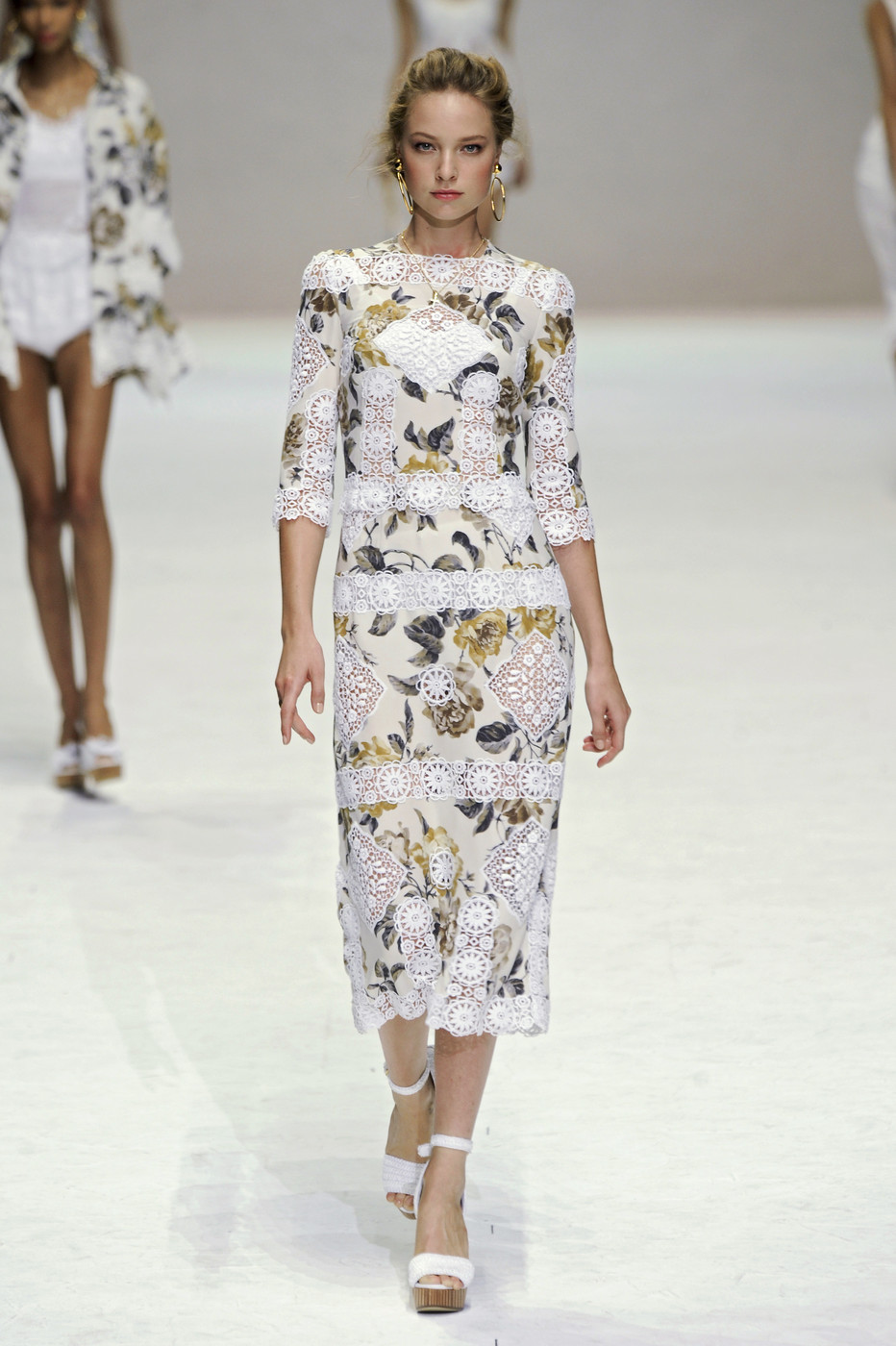 via fashioned by love | Dolce & Gabbana Spring/Summer 2011 | floral trend