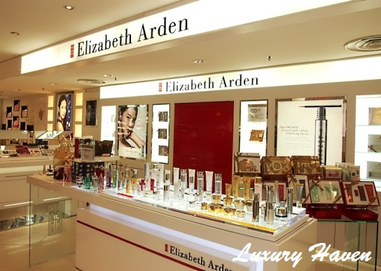 elizabeth arden robinson beauty counter, singapore