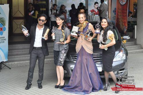 Pengacara Persembahan & Penyampai Anugerah ABPBH2011