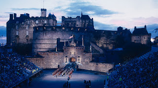 scotland scottish tourism edinburgh castle zombie fort fortress