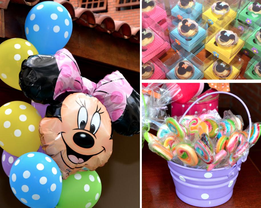 decoracao de jardim para festa infantil:Baby Guide Festa Infantil: Jardim Colorido da Minnie