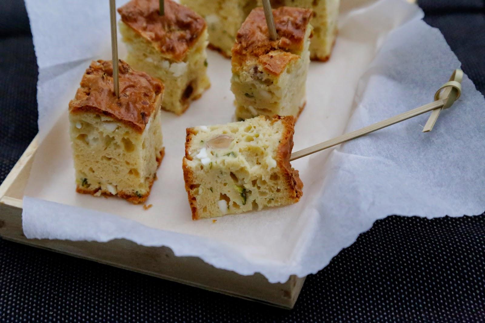 Recette Cake Froid Feta Menthe
