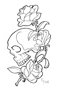 Gratifying image within rose coloring pages printable