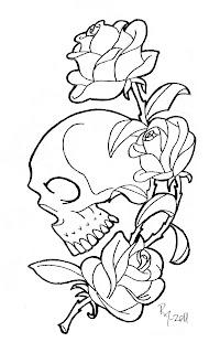 Satisfactory image regarding rose coloring pages printable