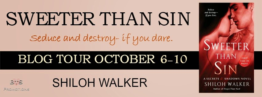Blog Tour: Spotlight + Giveaway – Sweeter than Sin by Shiloh Walker