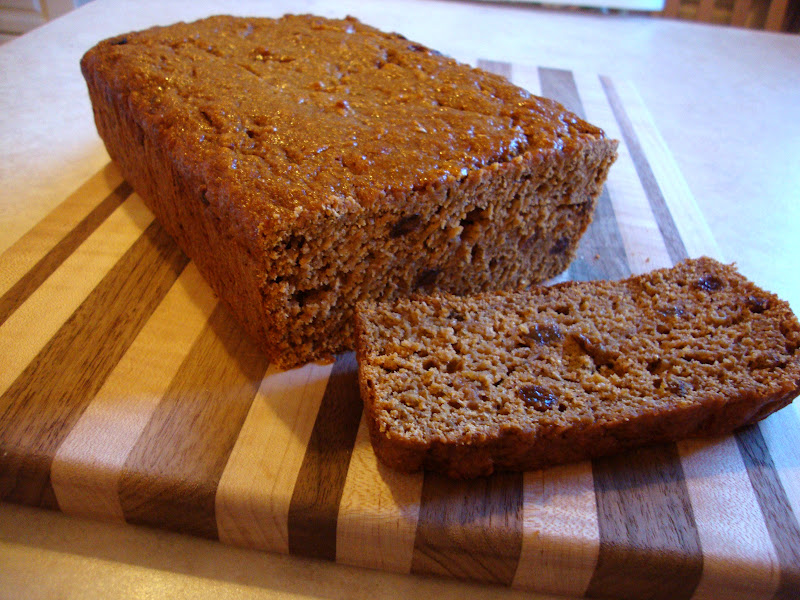 my back pages: apple butter cinnamon raisin loaf
