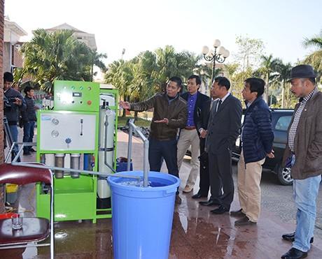 Máy lọc nước biển tại Nghệ An