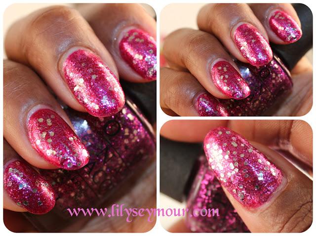OPI Divine Swine Glitter Nail Polish
