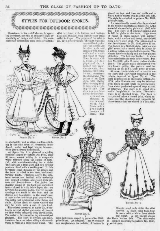 The Glass of Fashion 1898