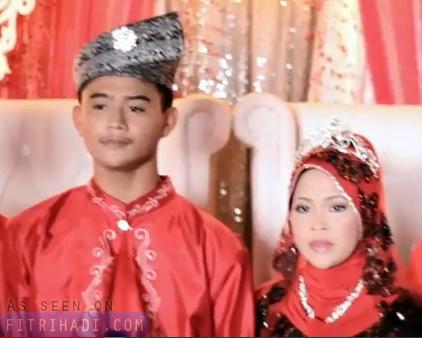 Video Majlis Perkahwinan Remaja 16 14 Tahun Syafiq Yana