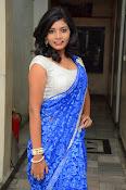 Bindhu latest sizzling saree pics-thumbnail-3