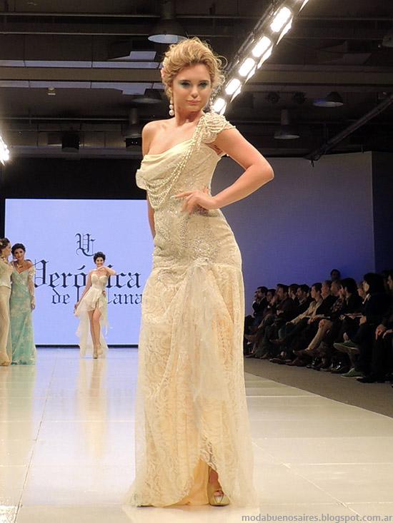 Veronica de la Canal primavera verano 2015 vestidos. Semana de la Moda primavera verano 2015.