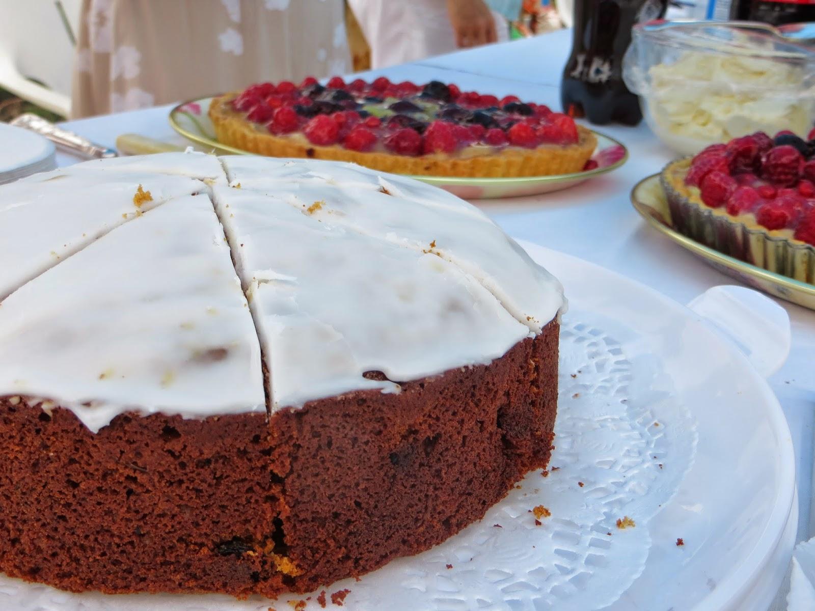 Another wonderful homemade cake.