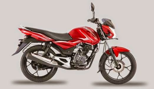 Bajaj Discover 100 M Flame Red